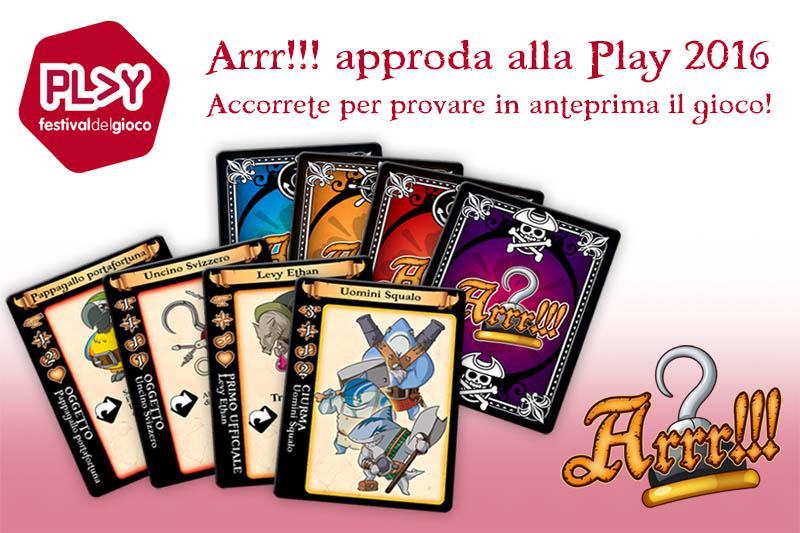 Play – Modena 2/3 aprile 2016