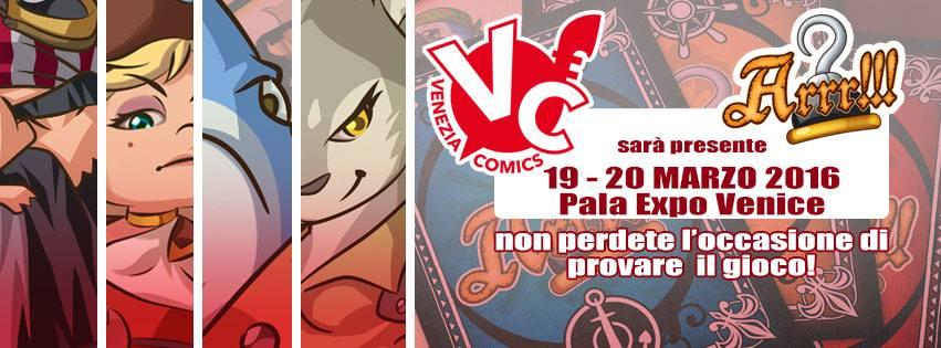 Venezia Comics 2016 – Festival del fumetto e della cultura pop