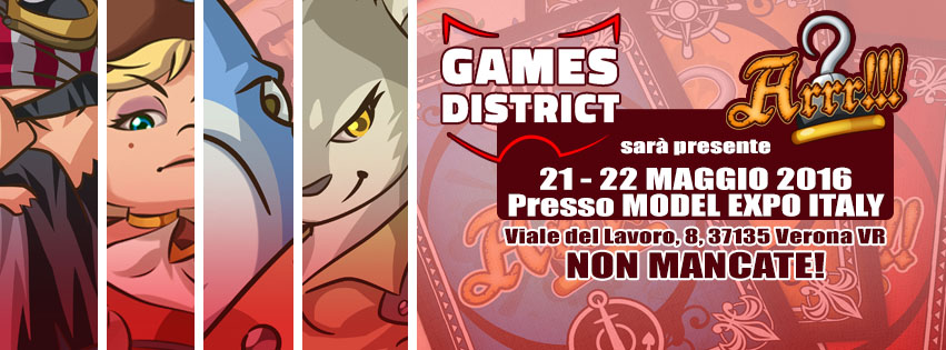 ARRR!!! Approda al Model Expo Italy Games District