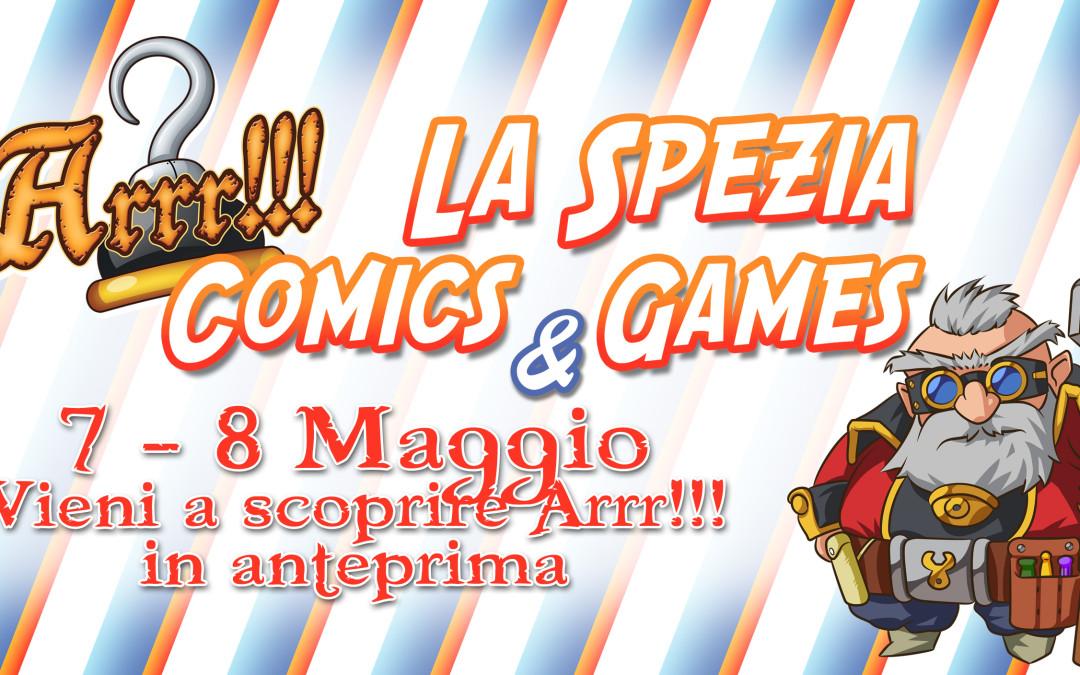 ARRR!!! a La Spezia Comics & Games 2016