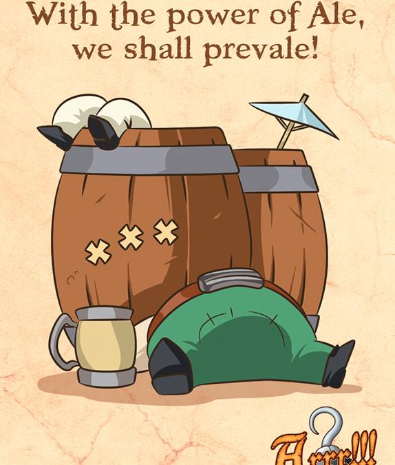 Una carta che non può mancare nella stiva dei veri Pirati: il Grog