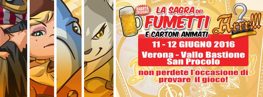 ARRR!!! a La Sagra dei Fumetti di Verona 11-12 giugno