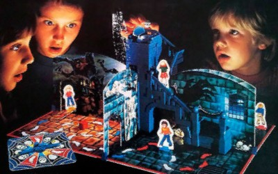 Un castello incantato, del Brivido, fantasmi e acchiappafantasmi: la paura anni '80