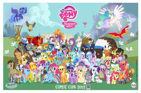 Il popolo di internet ama My Little Pony: l'amicizia è magica.