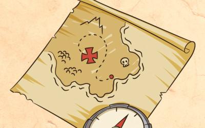 Salpiamo a far fortuna: Mappa del Tesoro