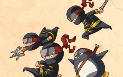 Nemici giurati dei Pirati: la Pioggia di Ninja!!!